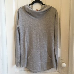 Lucy gray slouchy pullover hoodie, size medium